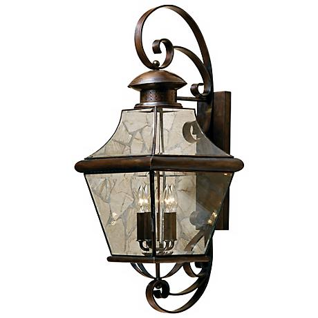 "Carleton Collection 34 1/2"" High Outdoor Wall Light"