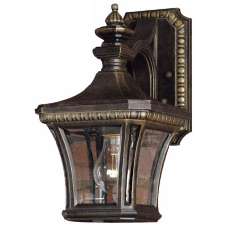 "Devon Collection 12 1/2"" High Outdoor Wall Light"
