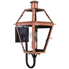 "Rue de Royal 20 1/2"" High Outdoor Wall Light"