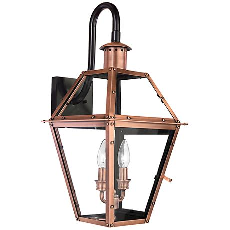"Rue de Royal 22"" High Downbridge Arm Outdoor Wall Light"