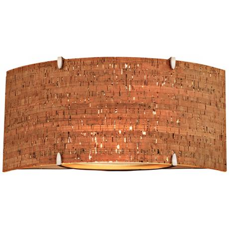 Forecast Edge Bow Cork Wall Sconce
