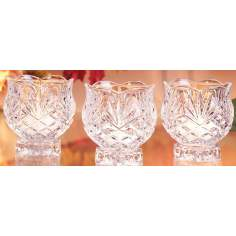 Set of 3 Carolyn Votive Candle Holders Gift Boxed