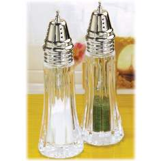 Alexandria Crystal Salt and Pepper Shakers