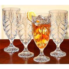 Portico Collection Set of Four Ice Tea Glasses
