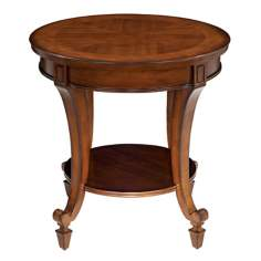 Demilune Collection Round End Table