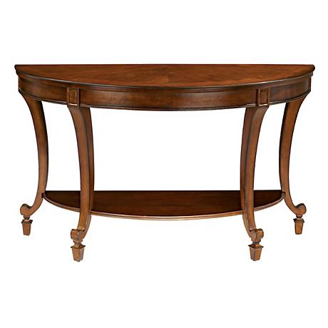 Demilune Collection Sofa Table