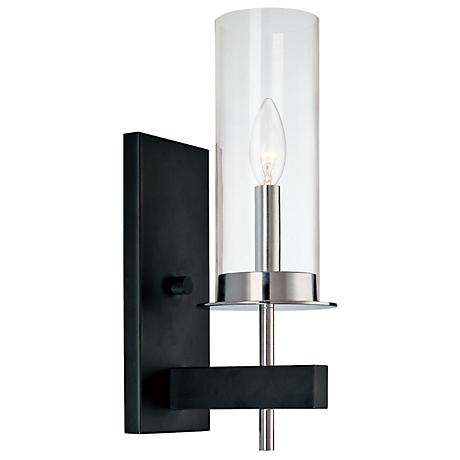 "Sonneman Tuxedo 14 1/2"" High One Light Wall Sconce"