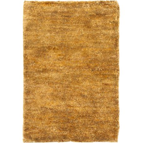 Bohemian Camel Eco-Friendly Jute Area Rug