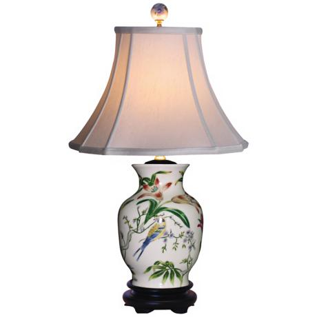 Tulip Vase Porcelain Table Lamp