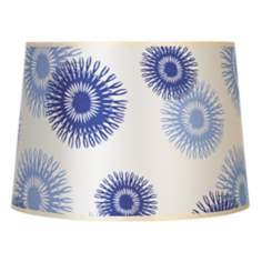 Lights Up! Blue Cornflower Shade 14x16x11 (Spider)