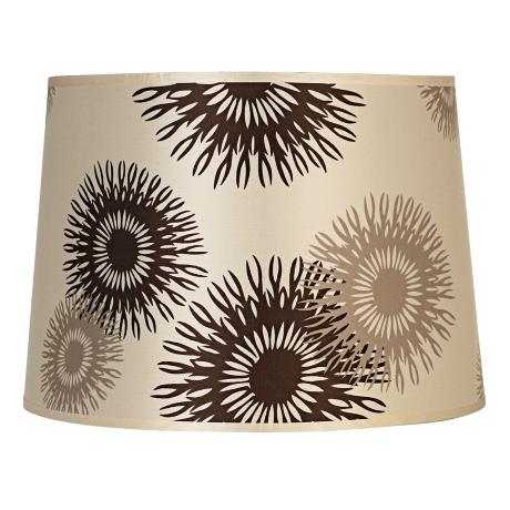 Lights Up! Tan Cornflower Shade 12x14x10 (Spider)