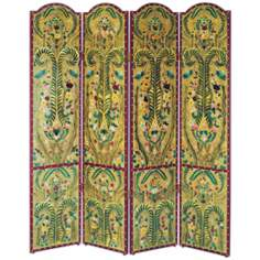 Majestic Sanctuary Hand Painted Screen