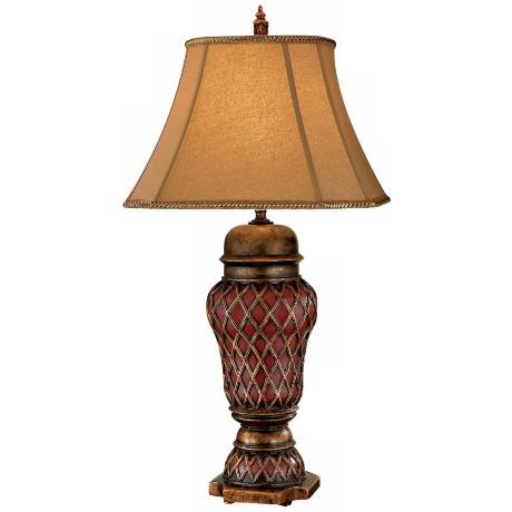 Murray Feiss Verdun Collection Lattice Urn Table Lamp