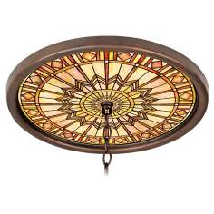 "Mackintosh Sun 16"" Wide Bronze 1"" Opening Medallion"