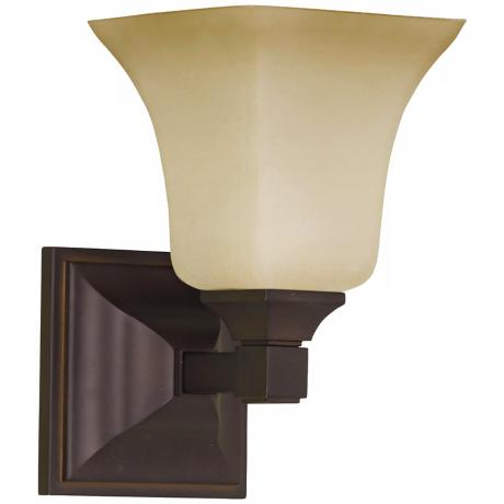"American Foursquare Collection 9"" High Wall Sconce"