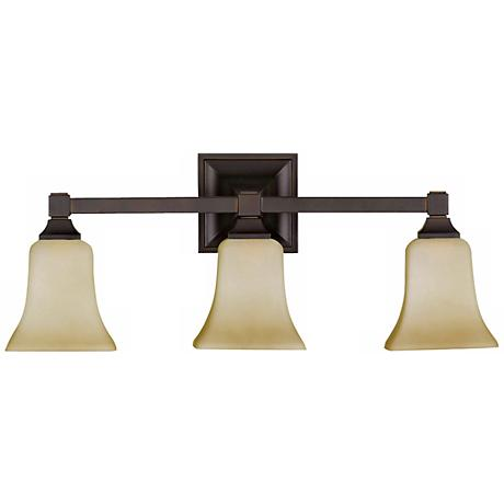 "Feiss American Foursquare Collection 22"" Wide Bathroom Light"