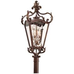 "Corbett St. Tropez 37 1/2"" High Outdoor Post Light"