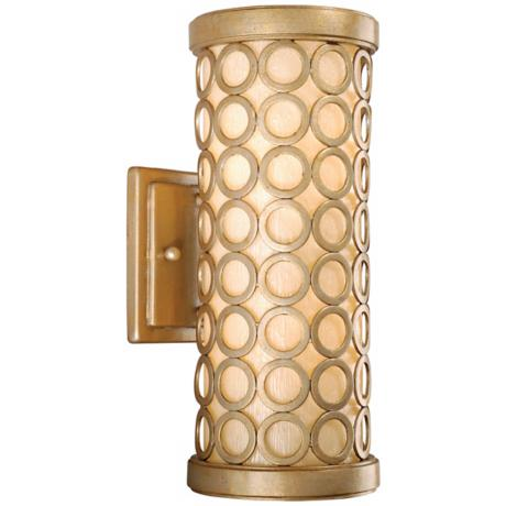 "Corbett Bangle Collection 12"" High Outdoor Wall Light"