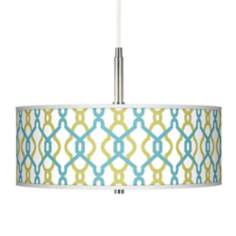 Hyper Links Giclee Pendant Chandelier