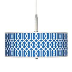 Chain Reaction Giclee Pendant Chandelier