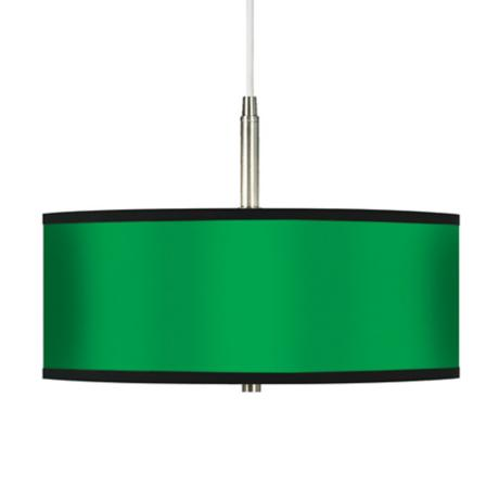 All Green Giclee Pendant Chandelier
