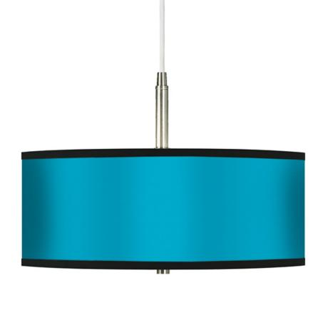 All Aqua Giclee Pendant Chandelier