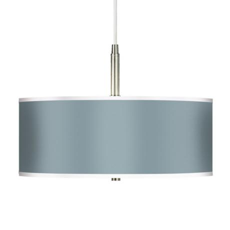 Aqua-Sphere Giclee Brushed Steel Contemporary Pendant Light
