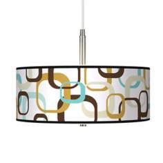 Countess Square Scramble Giclee Pendant Chandelier