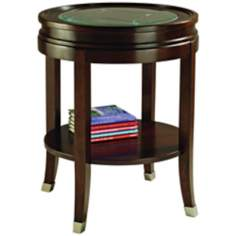 Lakefield Round End Table