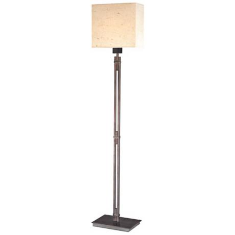 Sonneman Nikko Blackened Steel Floor Lamp