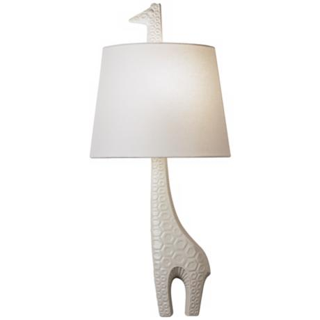 "Jonathan Adler 25 1/4"" High Left Giraffe Wall Sconce"