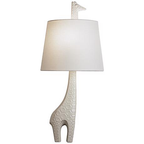 jonathan adler 25 1 4 high right giraffe wall sconce h0688 www. Black Bedroom Furniture Sets. Home Design Ideas