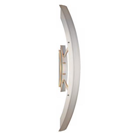 "Arch Satin Aluminum 24 1/4"" High ADA Outdoor Wall Light"