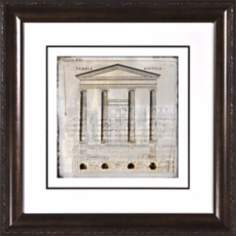 "Architectural Details II Under Glass 19 1/2"" Square Wall Art"