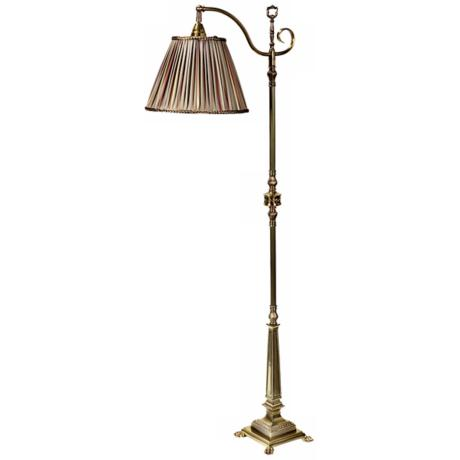 Frederick Cooper Savannah II Green Shade Floor Lamp