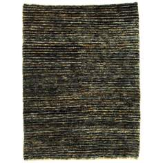 Ecogance Deep Brown Area Rug