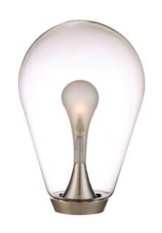 George Kovacs Glass Light Bulb Shade Table Lamp