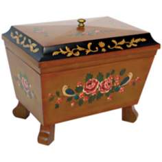 Hand-Painted Box with Moldings