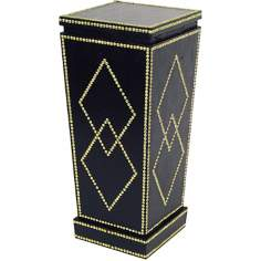 Nail Head Diamond Accent Pedestal