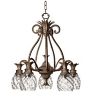 Hinkley Plantation Pearl Bronze Five Light Chandelier