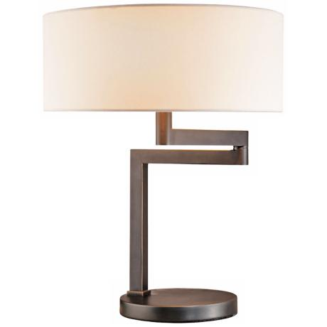 Sonneman Osso Table Lamp Black Brass