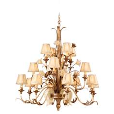 "Tivoli Collection 46"" Wide Entry Chandelier"