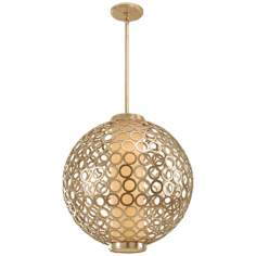 "Bangle Collection 23"" Wide Pendant Chandelier"