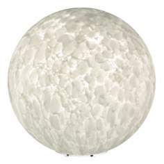 "Besa Sphere Series 11 3/8"" High Carrera Glass Accent Lamp"