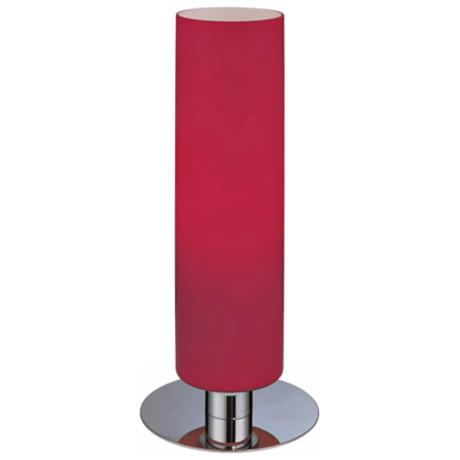 George Kovacs Energy Saving Glossy Red Cylinder Table Lamp
