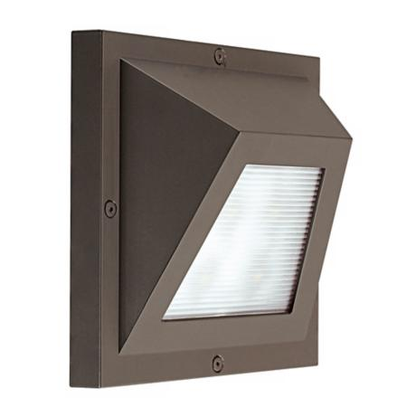 "Edge Bronze 8 3/4"" High ADA Fluorescent Outdoor Wall Light"