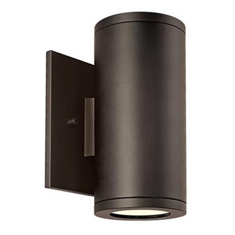 "Silo Dual Bronze 6 1/2"" High ADA Outdoor Wall Light"