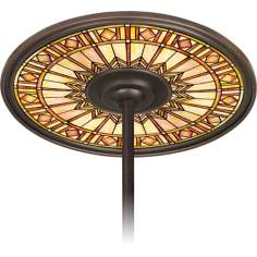 "Mackintosh Sun 6 1/2"" Opening Bronze Ceiling Fan Medallion"