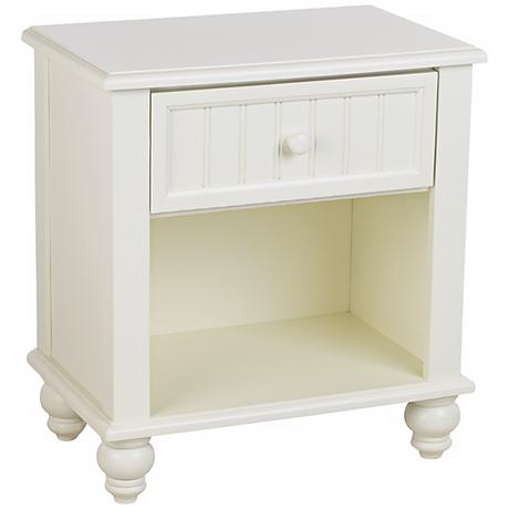 Westfield Off-White Wood Nightstand