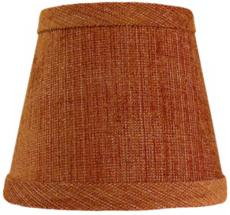 Orange Chenille Shade 6x12x8 (Spider)
